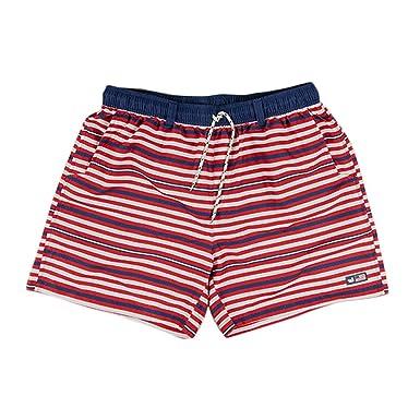 111c3fd5bc41e Southern Marsh Dockside Swim Trunk Red/White/Blue XXL Mens Boardshorts