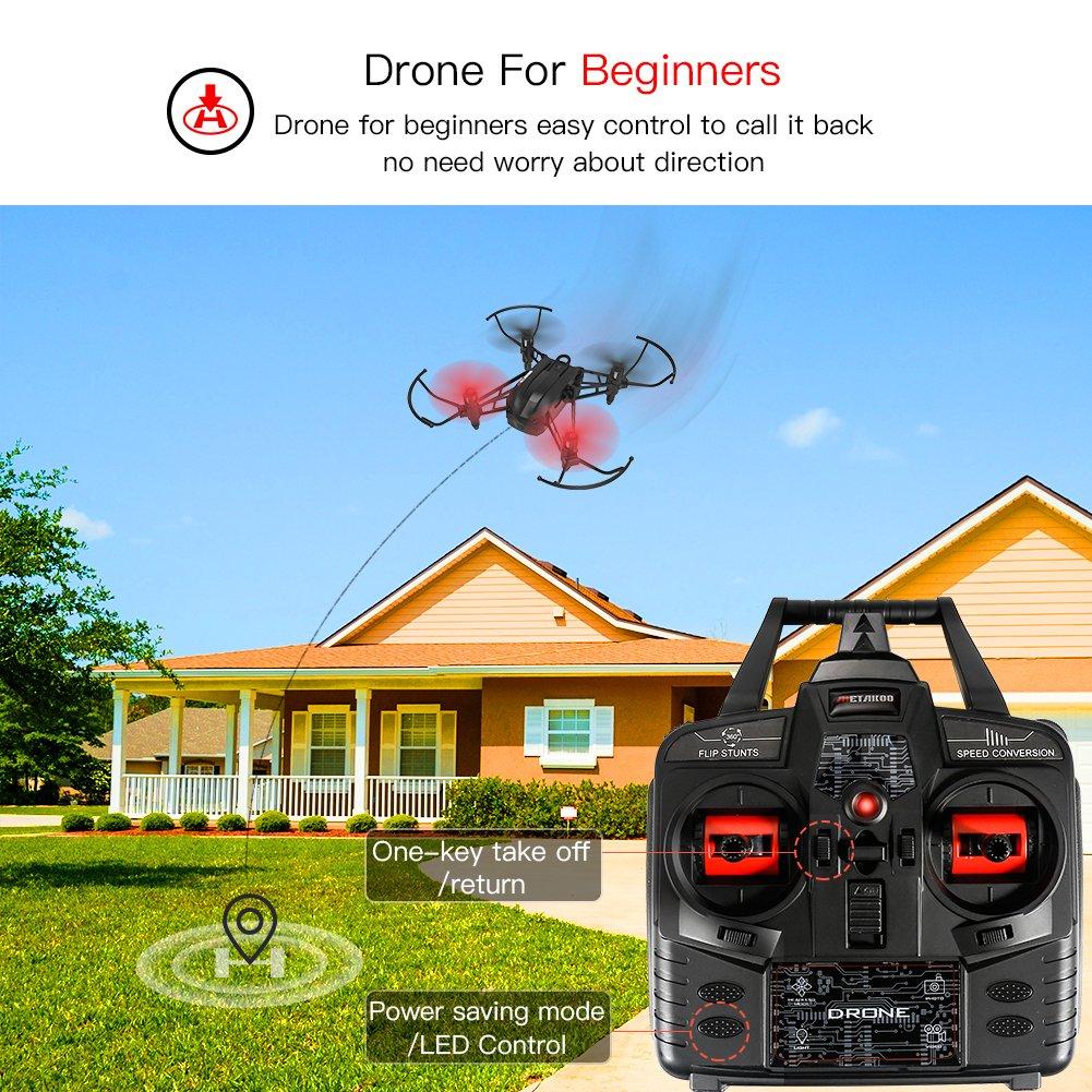 Drone con cámara, Metakoo M5 Professional Drone para Principiantes ...