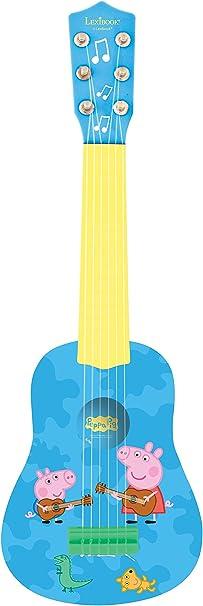Mi primera guitarra, 53cm, 6 cuerdas, instrumento infantil: Amazon ...