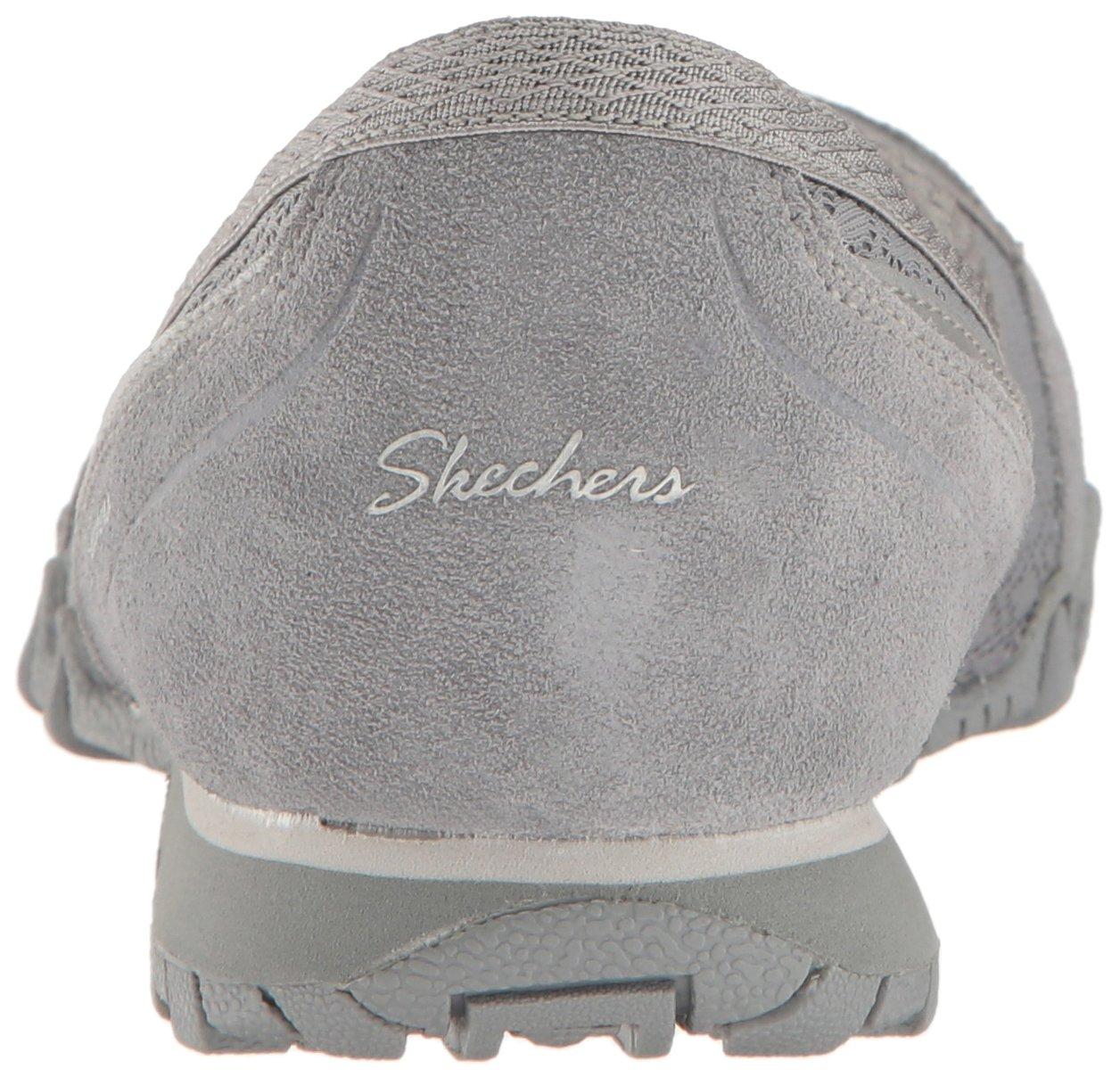 Skechers Women's 5.5 Bikers Skimmer Flat B01MA58PKB 5.5 Women's B(M) US|Grey 72f78d