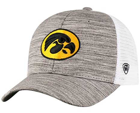 new concept 0c8aa c3166 Image Unavailable. Image not available for. Color  Top of the World Iowa  Hawkeyes NCAA Warm Up Adjustable Mesh Back Hat