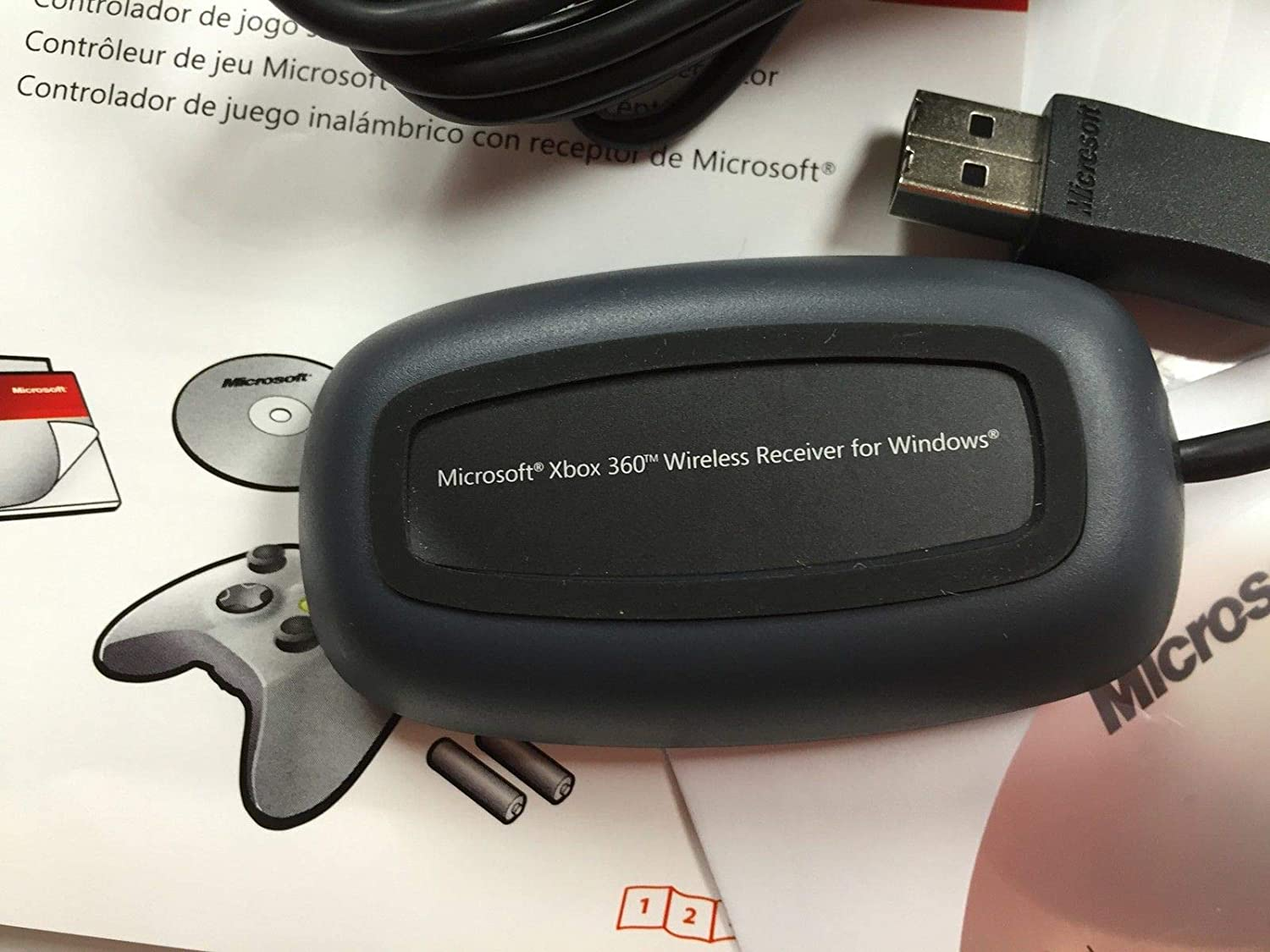 Microsoft Xbox 360 Wireless Receiver for Windows on fuse box art, fuse world, fuse demo review,
