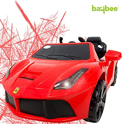 Buy Baybee Speeder Battery Operated Ride On Car For Kids With Usb