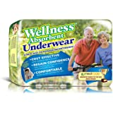 Wellness Absorbent Underwear w/ NASA Technology, Extra-Large, Pack/12