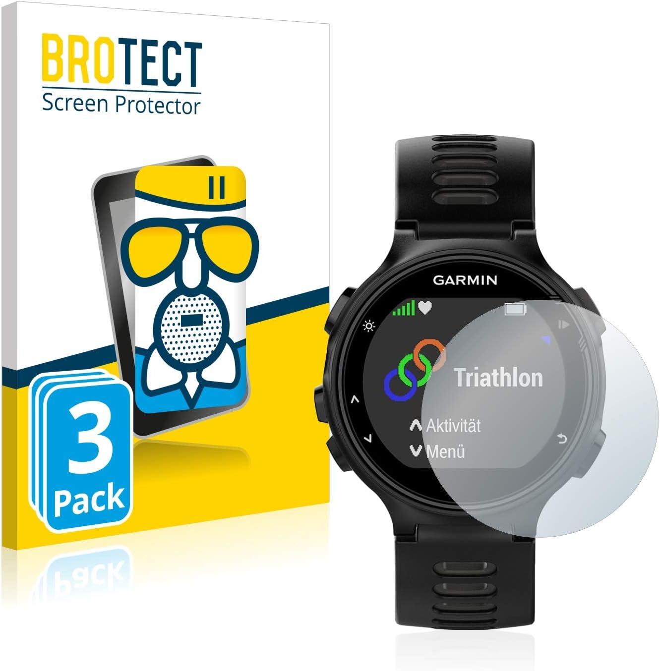Film Protecteur Vitre 9H brotect Anti-Reflet Protection Ecran Verre Compatible avec Garmin Forerunner 945 Mat