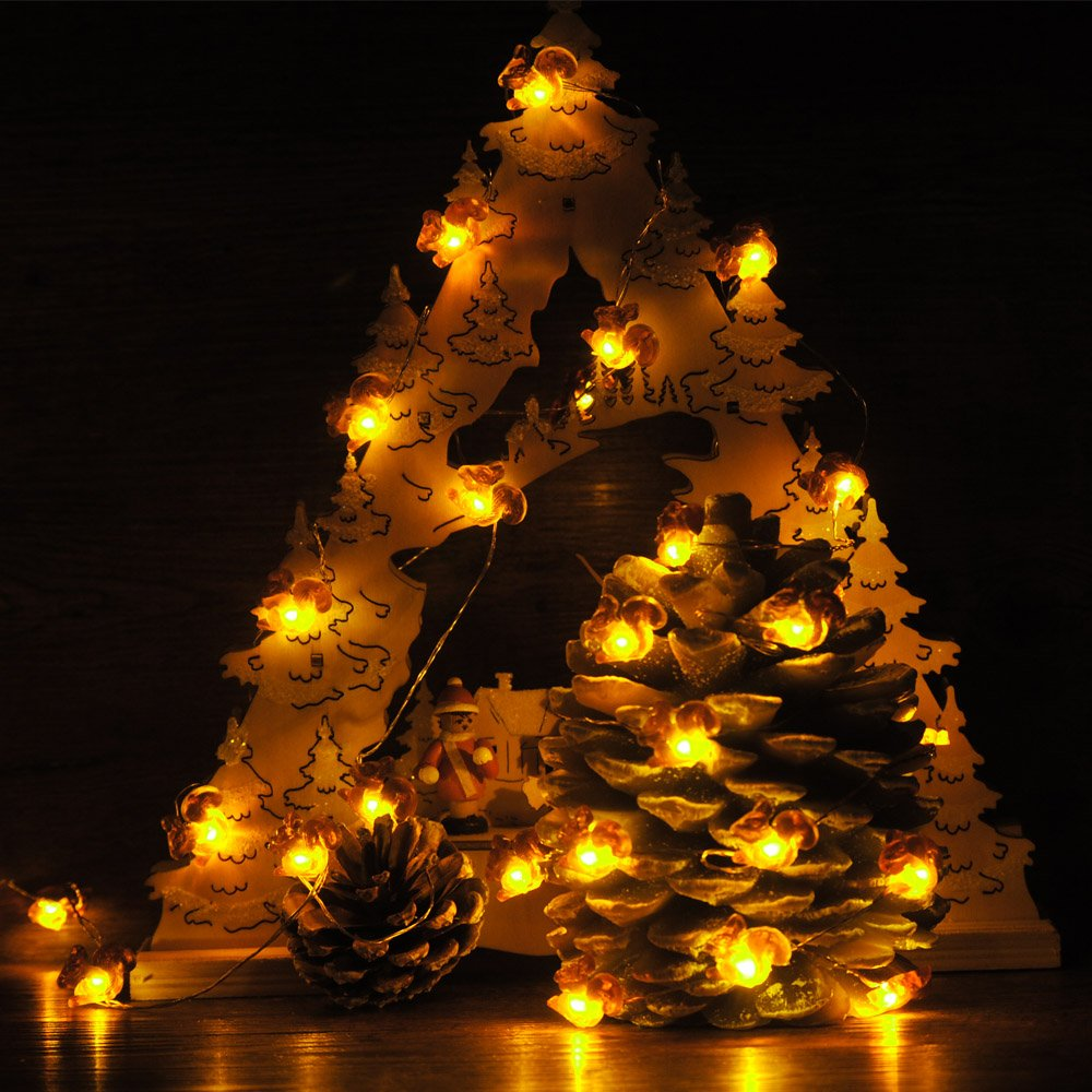 Amazon impress life fall decortive string lights squirrel amazon impress life fall decortive string lights squirrel festive lights battery operated 10 ft 40 leds with remote control for autumn christmas aloadofball Choice Image