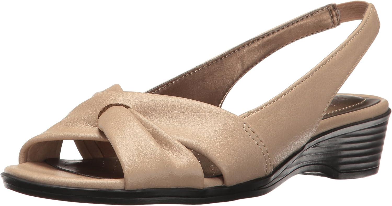LifeStride Womens Mimosa 2 Flat Sandal