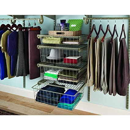 Amazon Com Closetmaid Shelftrack 21 In X 17 In Ventilated Wire 4