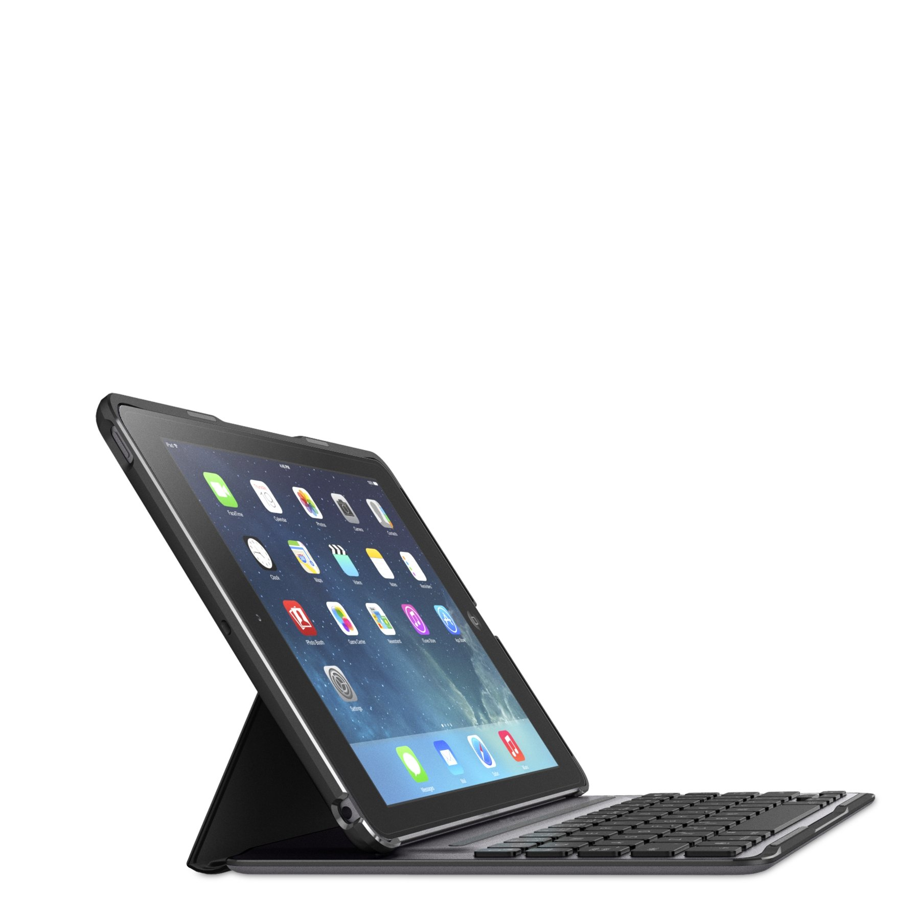Belkin QODE Ultimate Pro Keyboard Case for iPad Air (Black) by Belkin