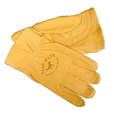 Tuff Mate Gloves Mens Tuff Mate 1301 Cutting Horse Glove: Home Improvement