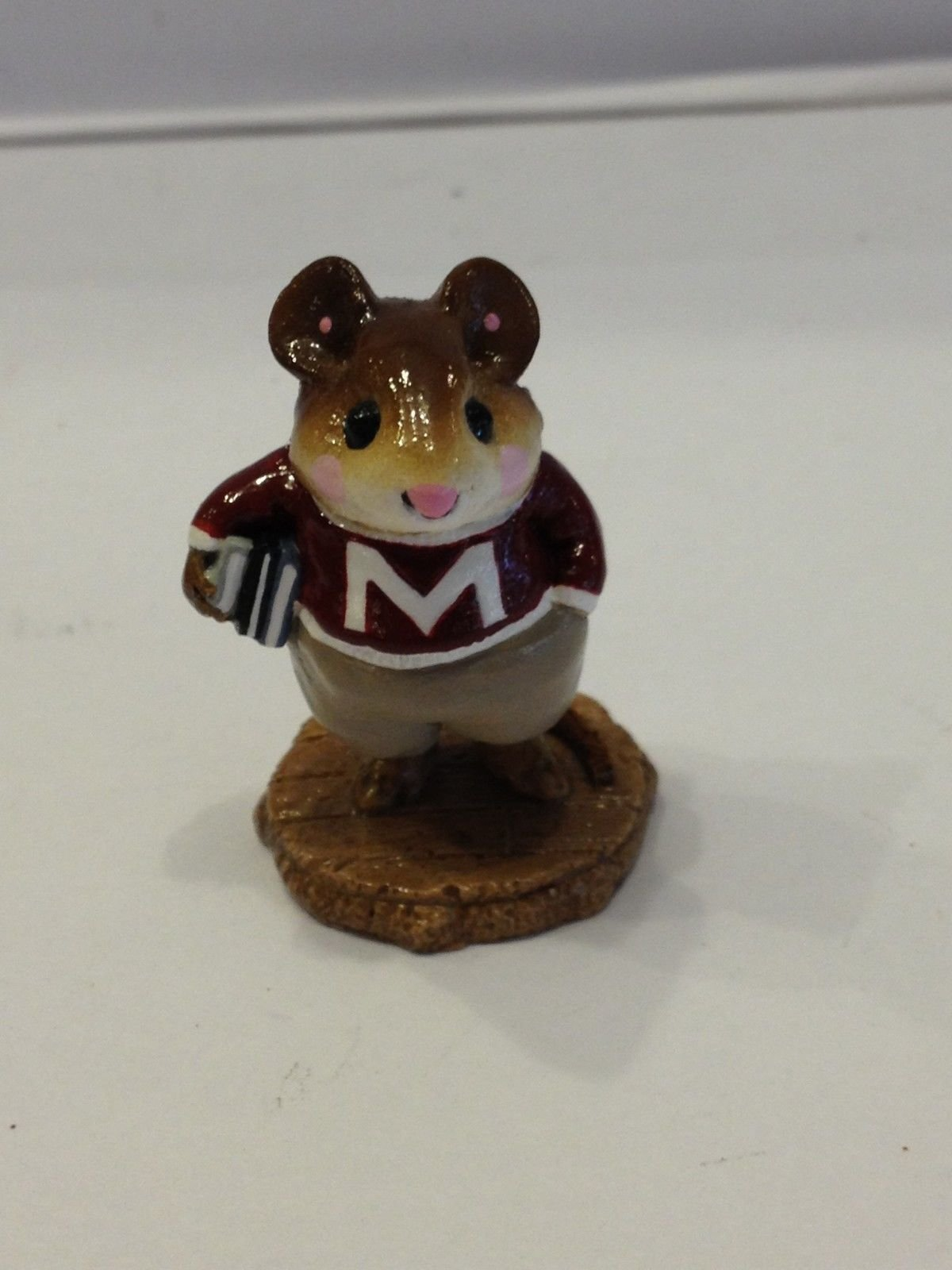 Wee Forest Folk M-139 Mouse on Campus