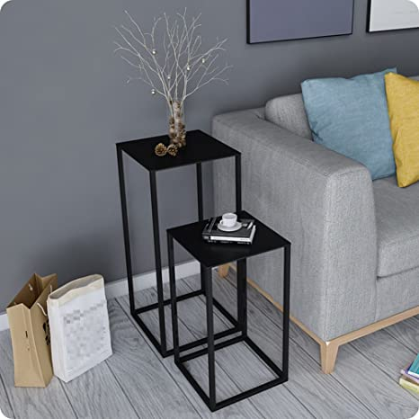 Amazon.com: Perfect Furniture CSQ Golden Small Coffee Table ...