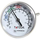 """Taylor Precision Products - 5976N B0030JWAVA Soil Testing Thermometer, 4"""" Stem, -20 to 180 Degrees F"""