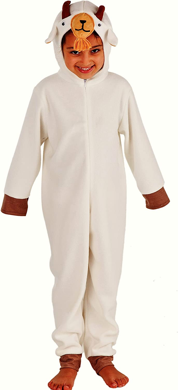 Disfraz de cabra para niños – Cordero Disfraz Para Niños – De ...
