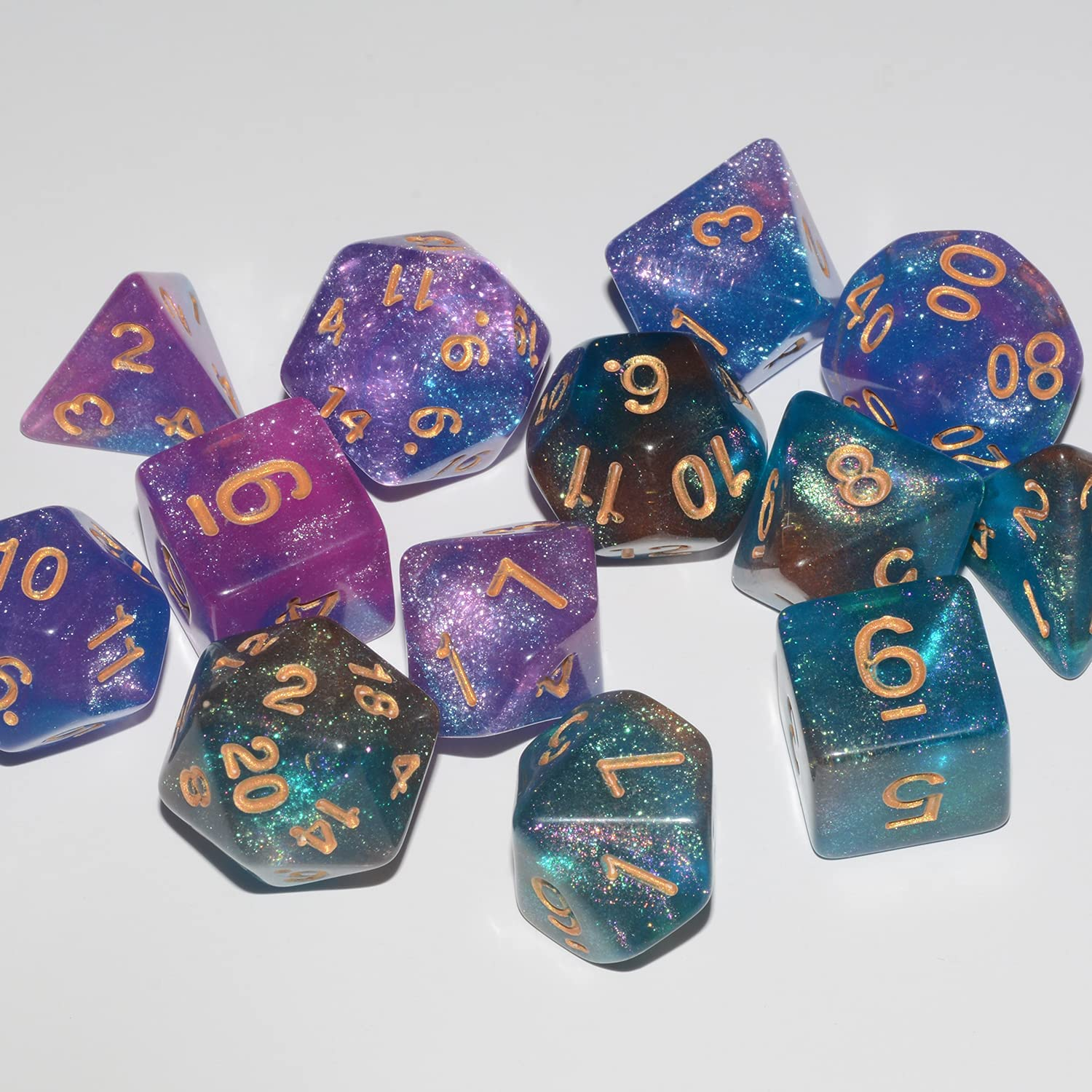 thegymyarraville.com.au Toys & Games Role Playing Dice 14Pieces ...