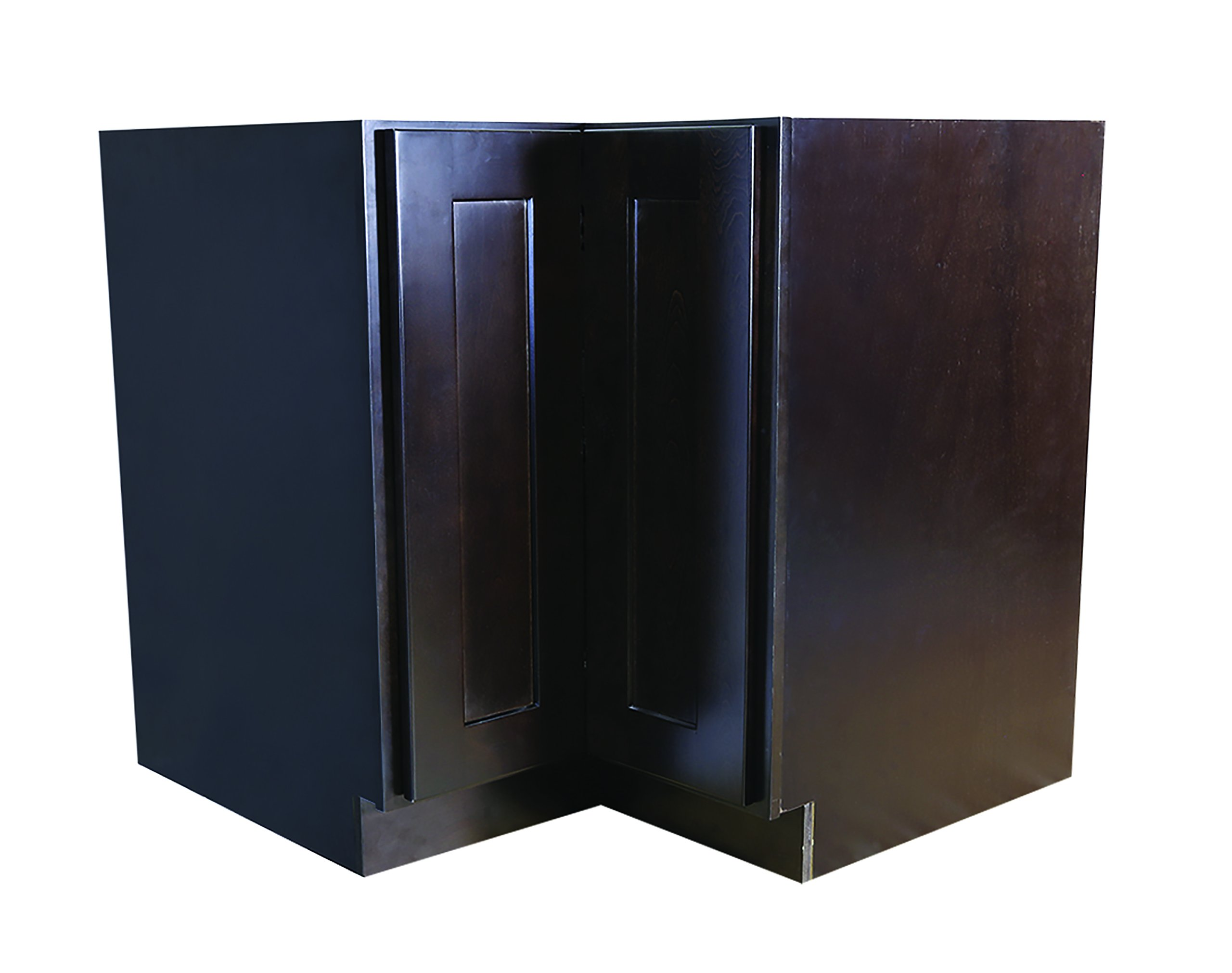 Design House 562025 Brookings 36-Inch Lazy Susan Cabinet, Espresso Shaker by Design House