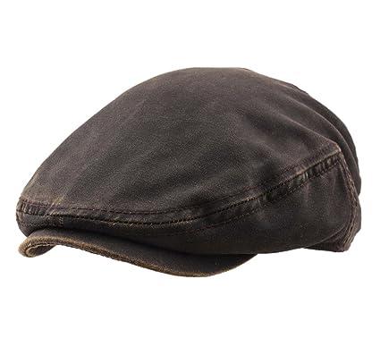 05cd30523690fc Stetson Men's Driver Cap CO/Pes Flat Cap Size L at Amazon Men's ...