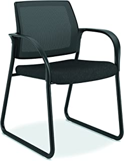 product image for HON Ignition Guest/Multi-Purpose Sled Base Chair with Mesh Back, Black