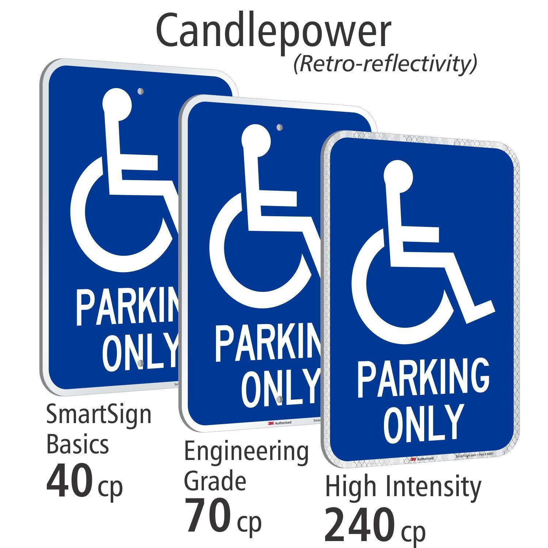Amazon.com: SmartSign - Señal de aparcamiento para ...