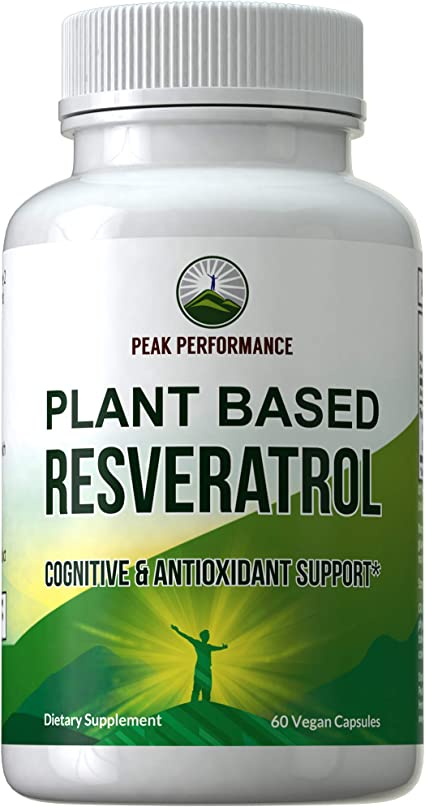 Amazon Com Resveratrol 500mg Best Plant Based Resveratrol