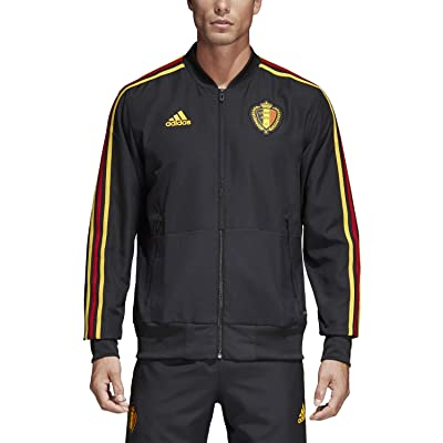 2018-2019 Belgium Adidas Presentation Jacket (Black)