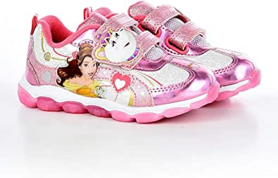 Disney Princess Belle Light Up Toddler Girls Sneaker
