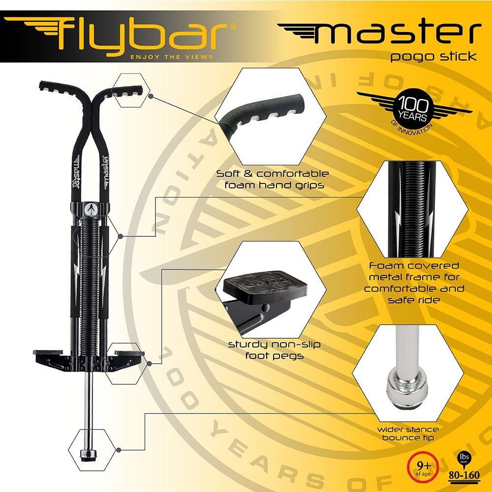 86eab249058f6 Amazon.com   Flybar Foam Master Pogo Stick for Kids Boys   Girls Ages 9    Up