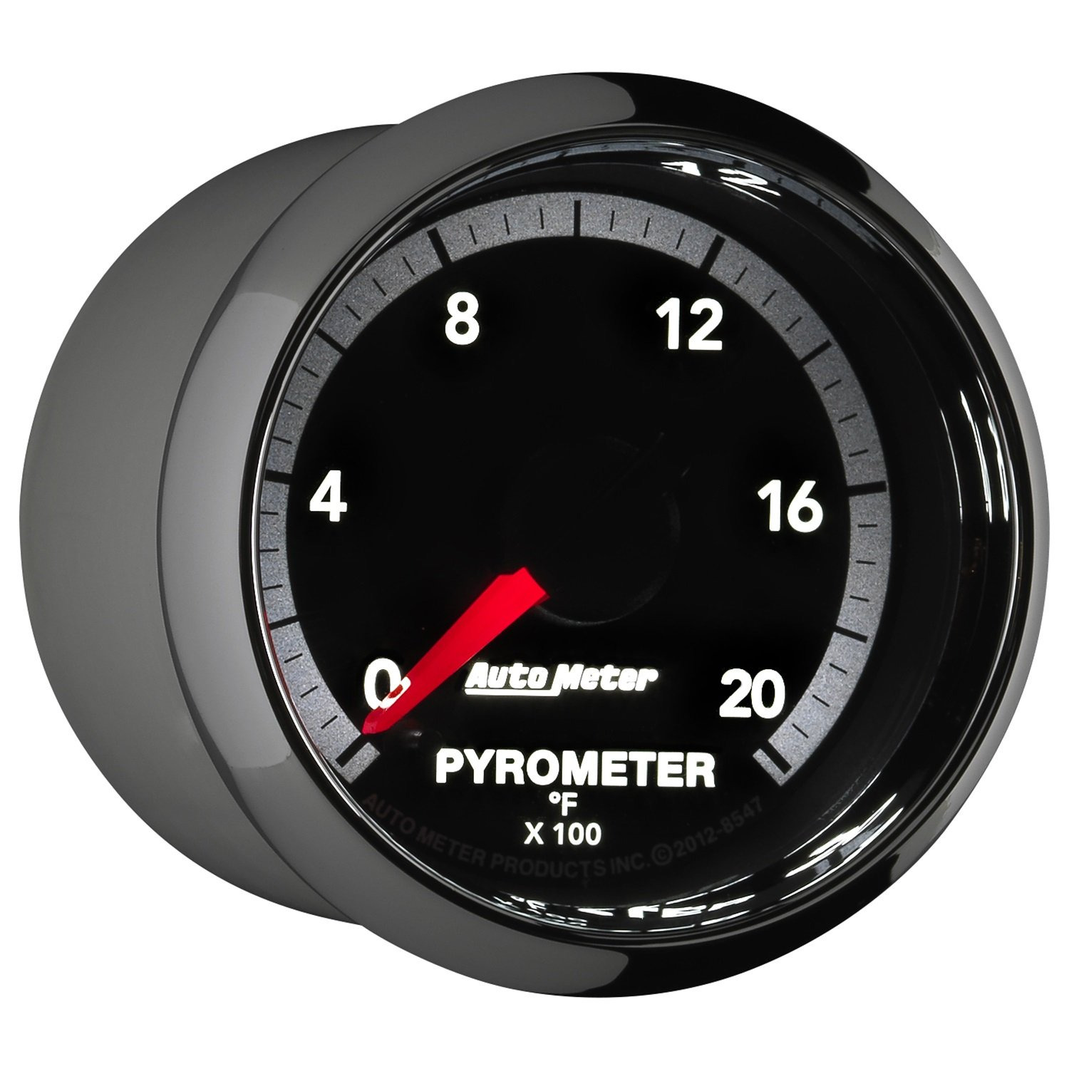 Auto Meter 8547 Factory Match 2-1/16'' Electric Pyrometer (0-2000 Degree F, 52.4mm) by Auto Meter (Image #3)