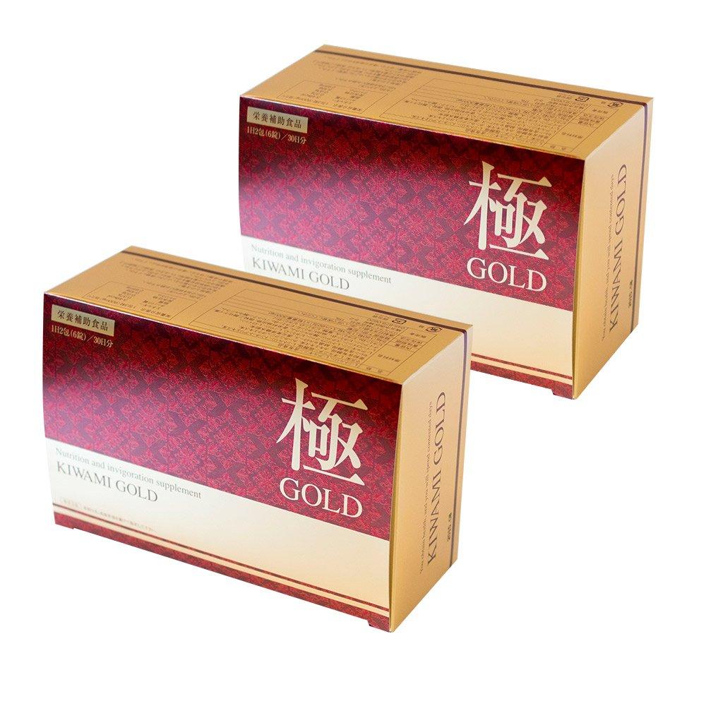 極GOLD 2箱セット(2ヶ月分) B01HBXAO3Q