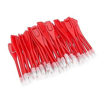 50 lápices para tarjeta de puntuación de golf, rojo: Amazon.es ...