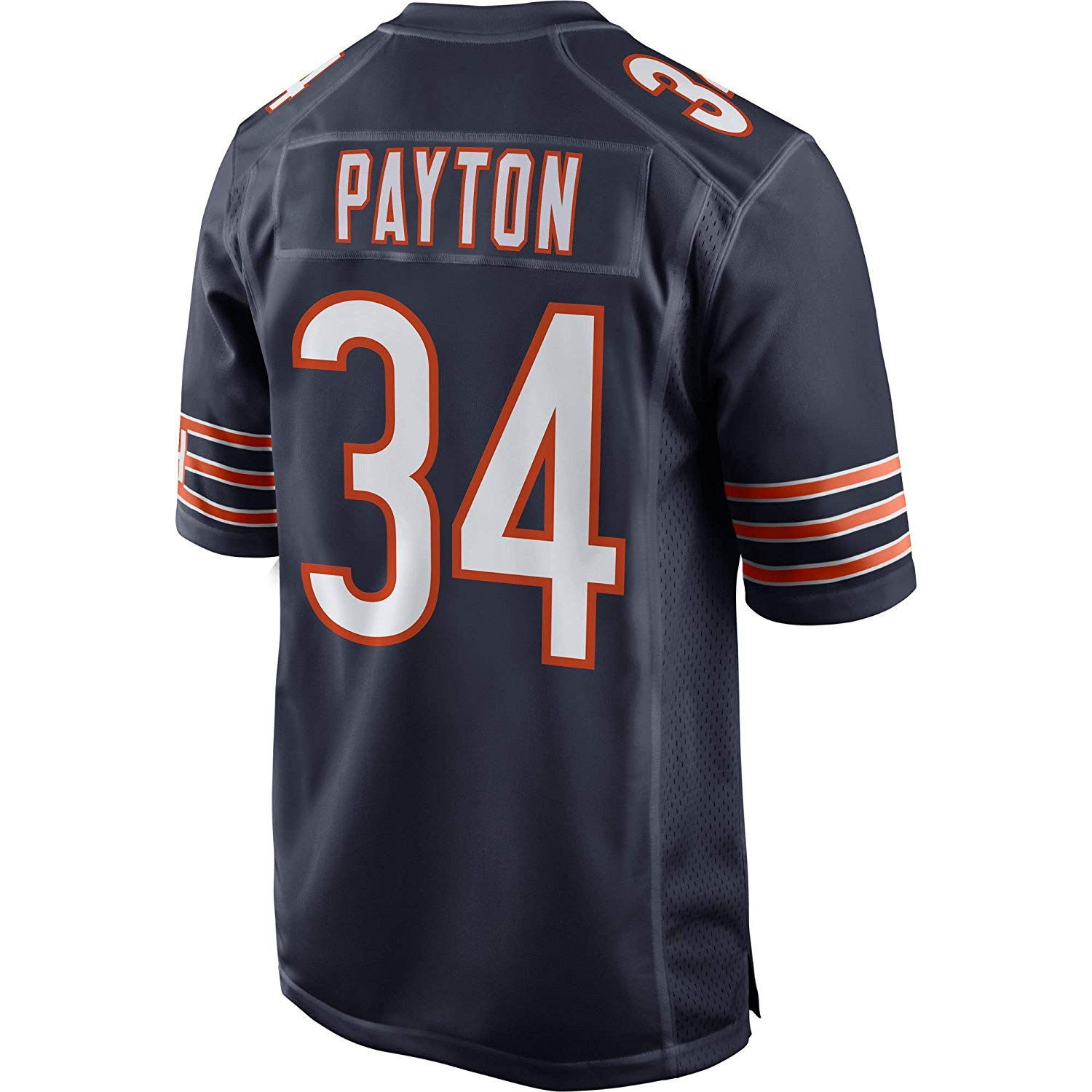 JEMWY Mens//Womens//Youth/_Walter/_Payton/_#34/_Navy/_Player/_Sportswears/_Training/_Competition/_Jersey