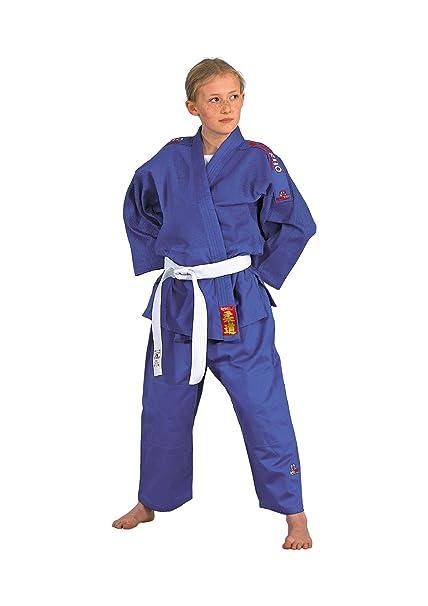 DANRHO Judogi Yamanashi mit Schulterstreifen - Pantalones de ...