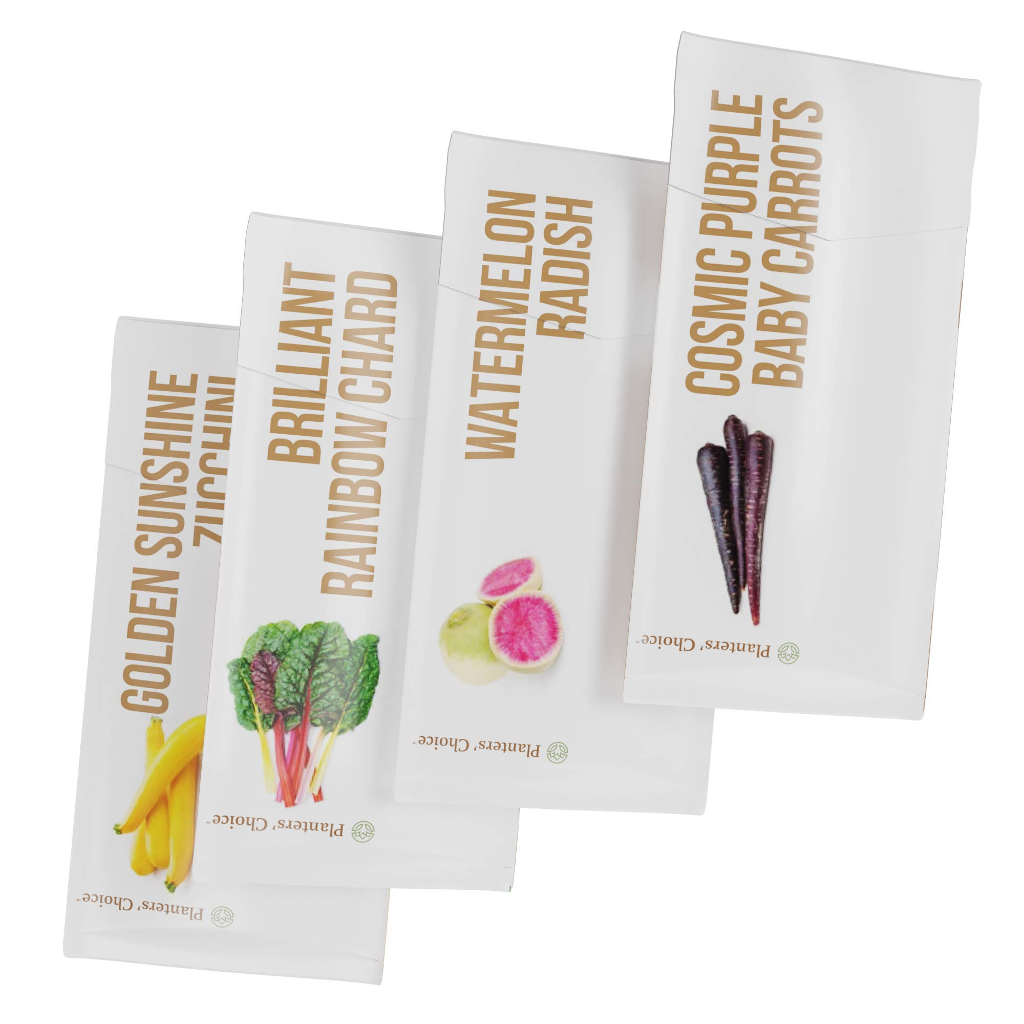 Exotic Veggies Growing Kit - Everything Included to Easily Grow 4 Unique Vegetables from Seed - Carrots, Chard, Radish, Zucchini + Moisture Meter by Planters' Choice (Image #9)