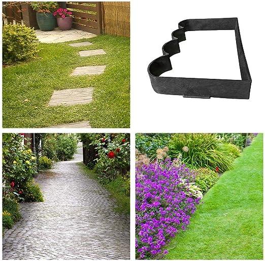 Molde para Suelo de plástico con Forma de Cemento y hormigón, para el jardín, para pavimento, hormigón, pavimento de Piedra Natural, adoquines, adoquines, Placas de terraza: Amazon.es: Hogar