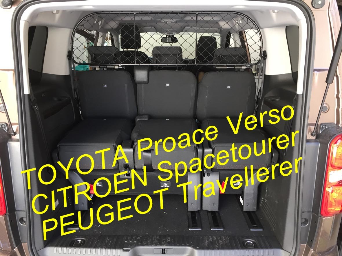 Divisorio Griglia Rete Divisoria Ergotech RDA65-XL16 kty018, per trasporto cani e bagagli. Sicuro, confortevole, garantito! Ergotech S.r.l.