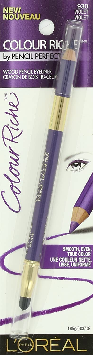 L Oreal Paris Colour Riche Eyeliner, Violet, 0.037 Ounces
