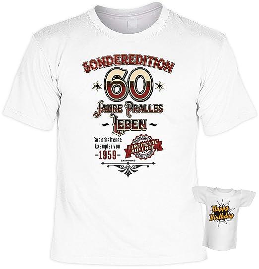 T Shirt 60 Geburtstag Geburtstagsshirt Sprüche Jahrgang