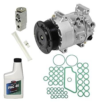 Universal aire acondicionado KT 2500 A/C compresor y Kit de componente: Amazon.es: Coche y moto
