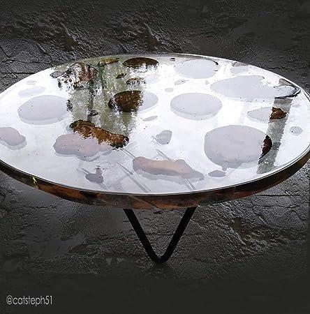 800 gr Resina epoxi transparente no tóxica para Obras de arte, Joyería, Artesanía y Bricolaje