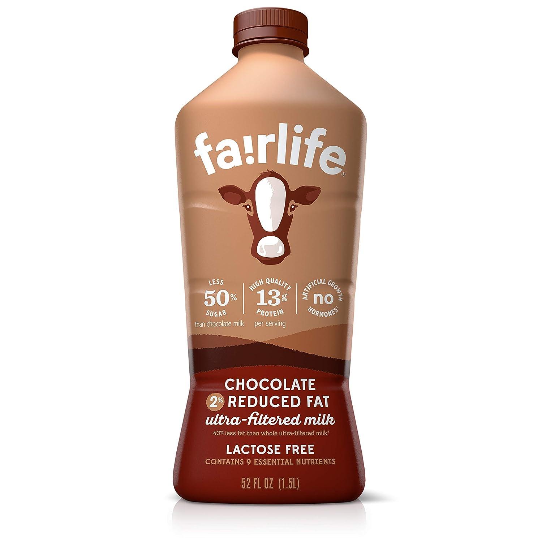 fairlife Chocolate, 2% reduced fat milk, 52 fl oz