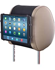 TFY Universelle Auto Kopfstützen Halterung Silikon Halterung für 7-10,5 Zoll Tablets und iPads
