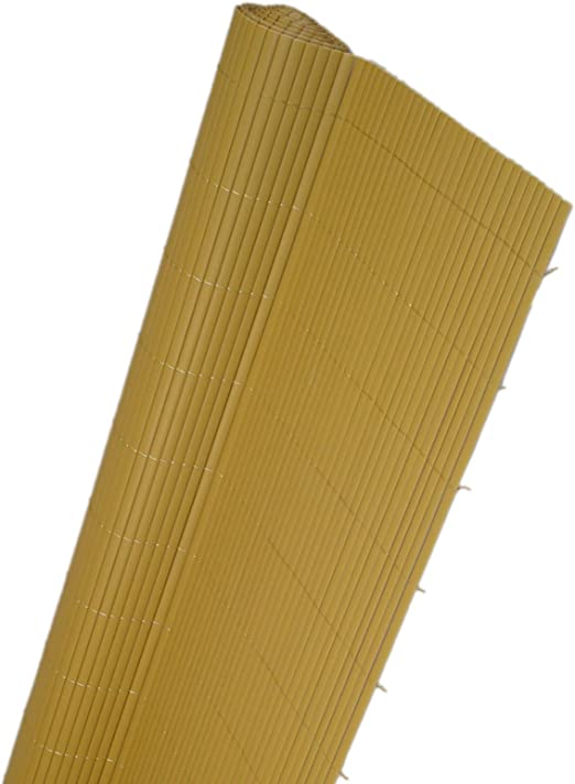 canniccio de plástico doble Vallas copert. Separadores color Avana 200 x 300 cm EV: Amazon.es: Jardín