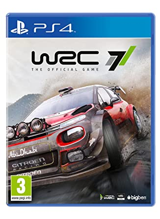 Wrc 7 The Official Game Ps4 Amazon Co Uk Pc Video Games