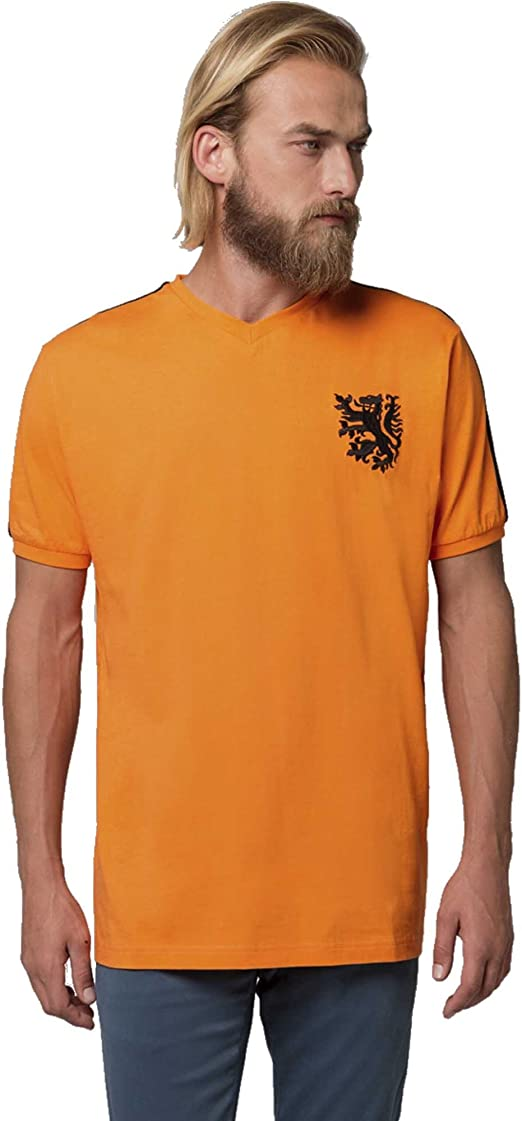 Coolligan 1974 Holland Camiseta, Naranja (Orange), (Tamaño del ...