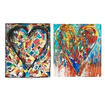 Canvas Wall Art Décorations Aquarelle Peinture Abstraite, Home Decor ...