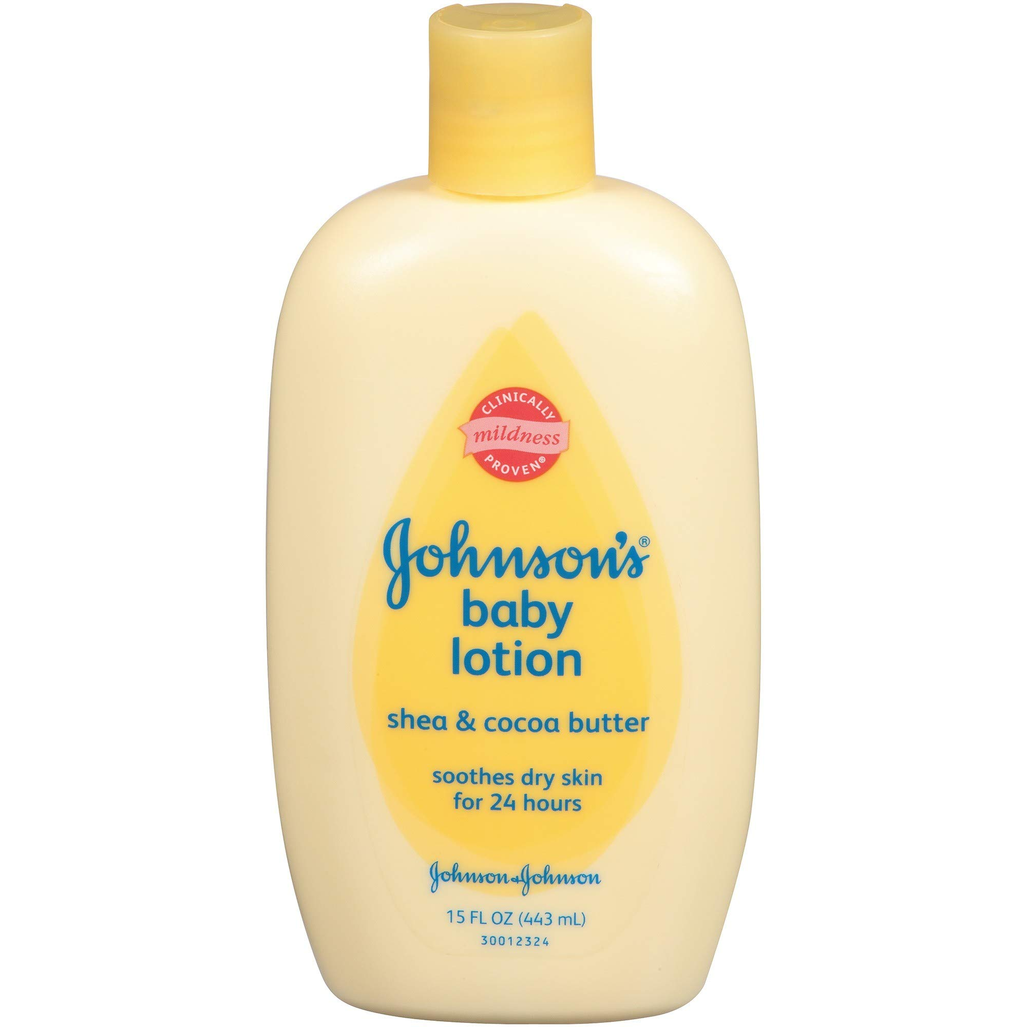 Johnson's Baby Lotion, Shea & Coca Butter, 15 Ounce (Pack of 2) by Johnson's Baby
