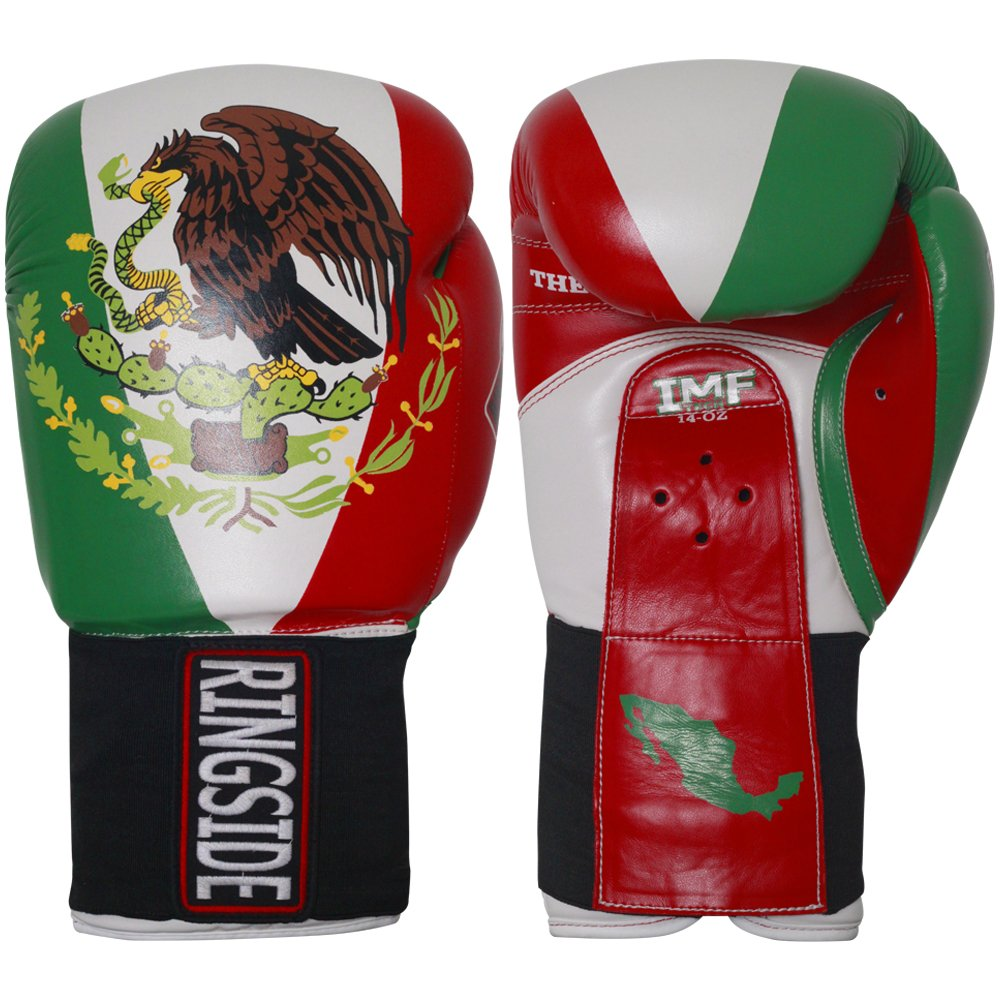 Ringside Limited Edition Mexico IMF Sparring Gloves, 16-Ounce MFTGE3 16OZ
