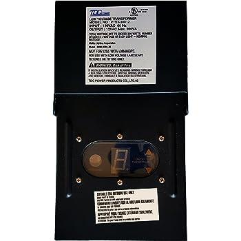 Malibu Tdc Power Ptst 30012 12v Ac Low Voltage Transformer
