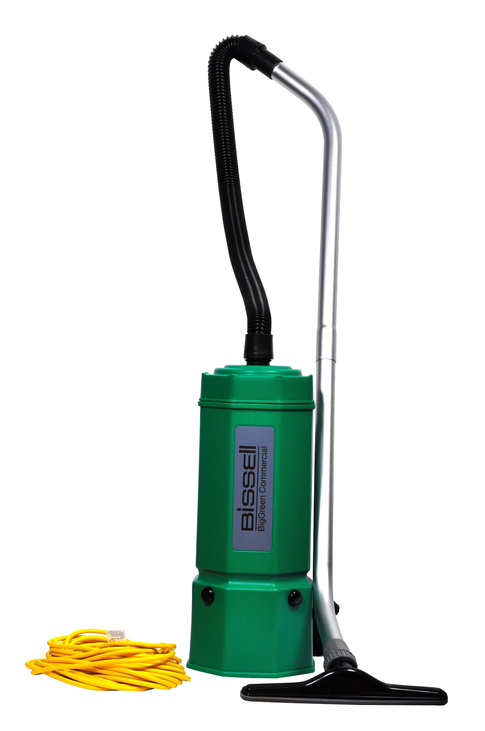 Bissell BigGreen Commercial BG1006 High Filtration Backpack Vacuum, 1080W, 22.5'' Height, 6 qt Capacity, Red by Bissell