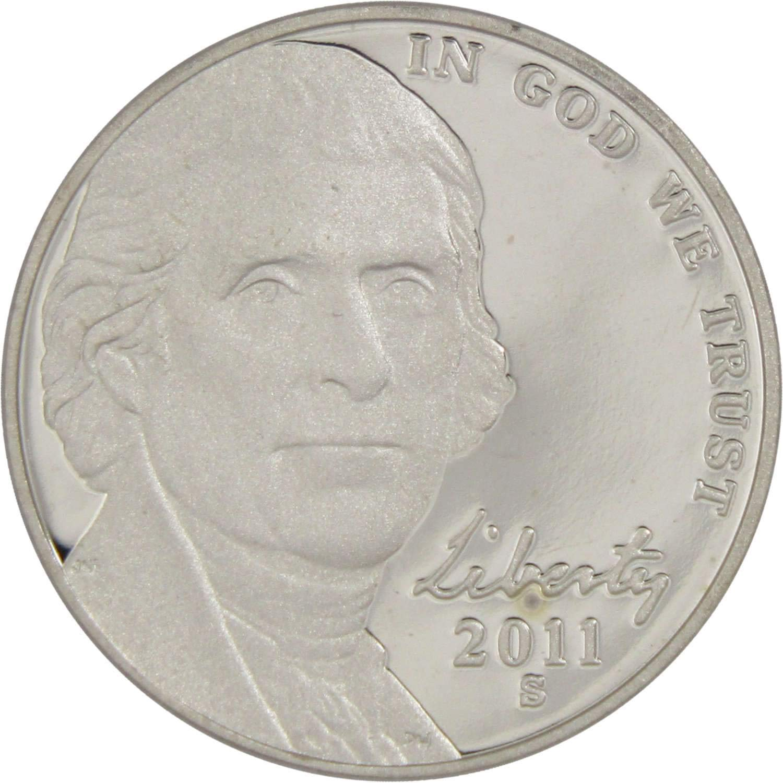 "2008 S Jefferson Nickel PROOF Gem Deep Cameo US Mint /""Beautiful/"" Coin"